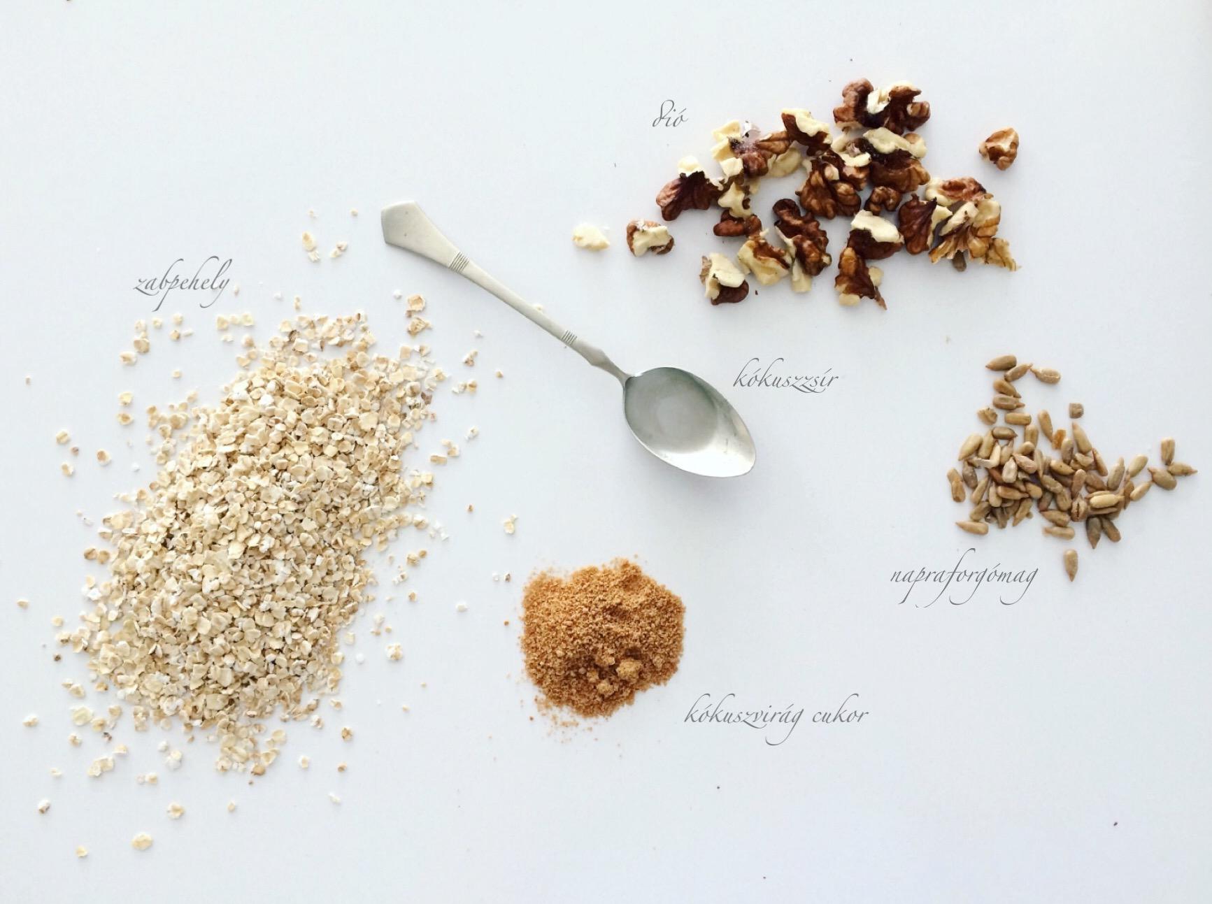 granola 5 hozzavalobol