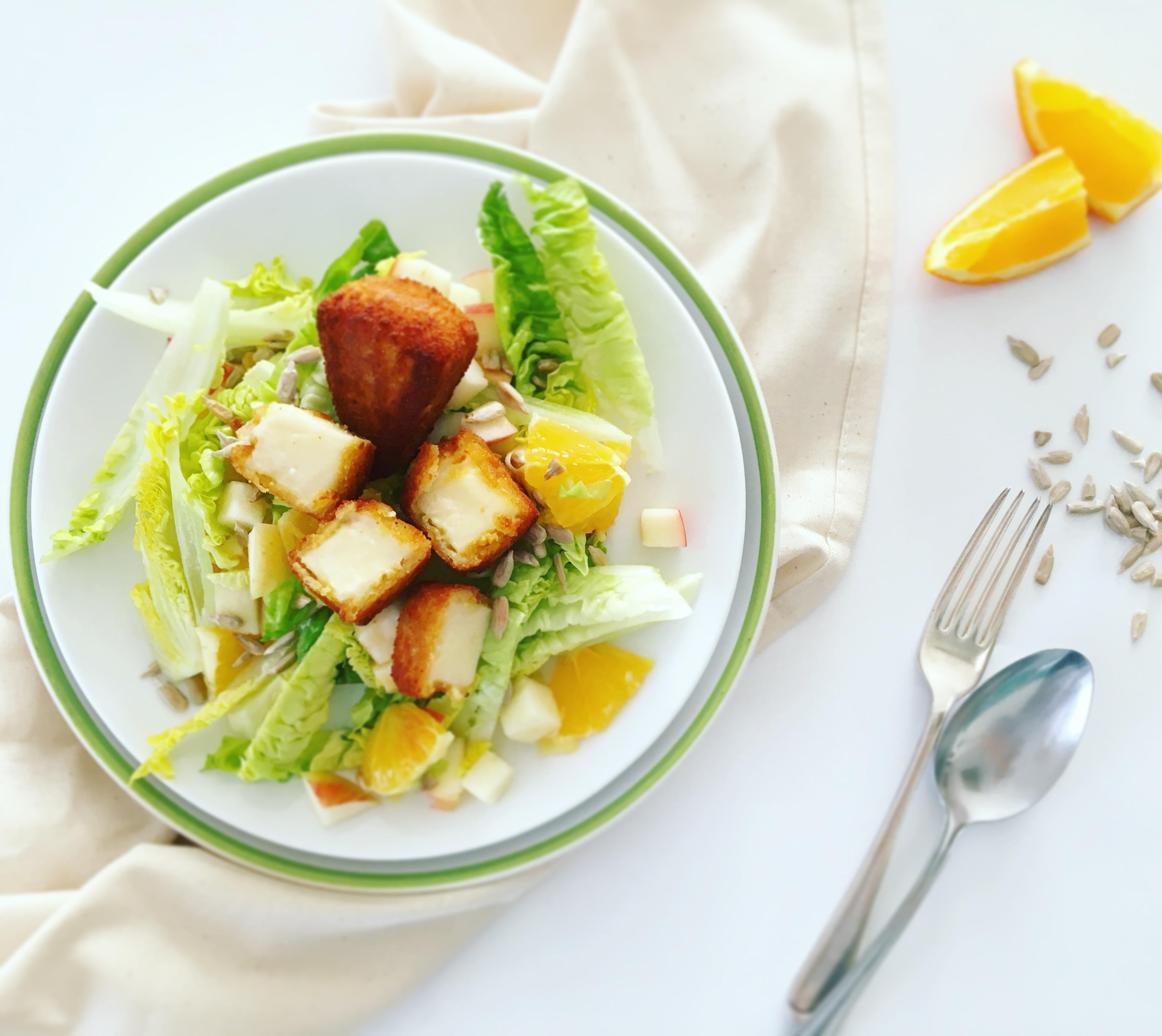 Gyümölcsös saláta 5 hozzávalóból Medve Aranyfalatokkal