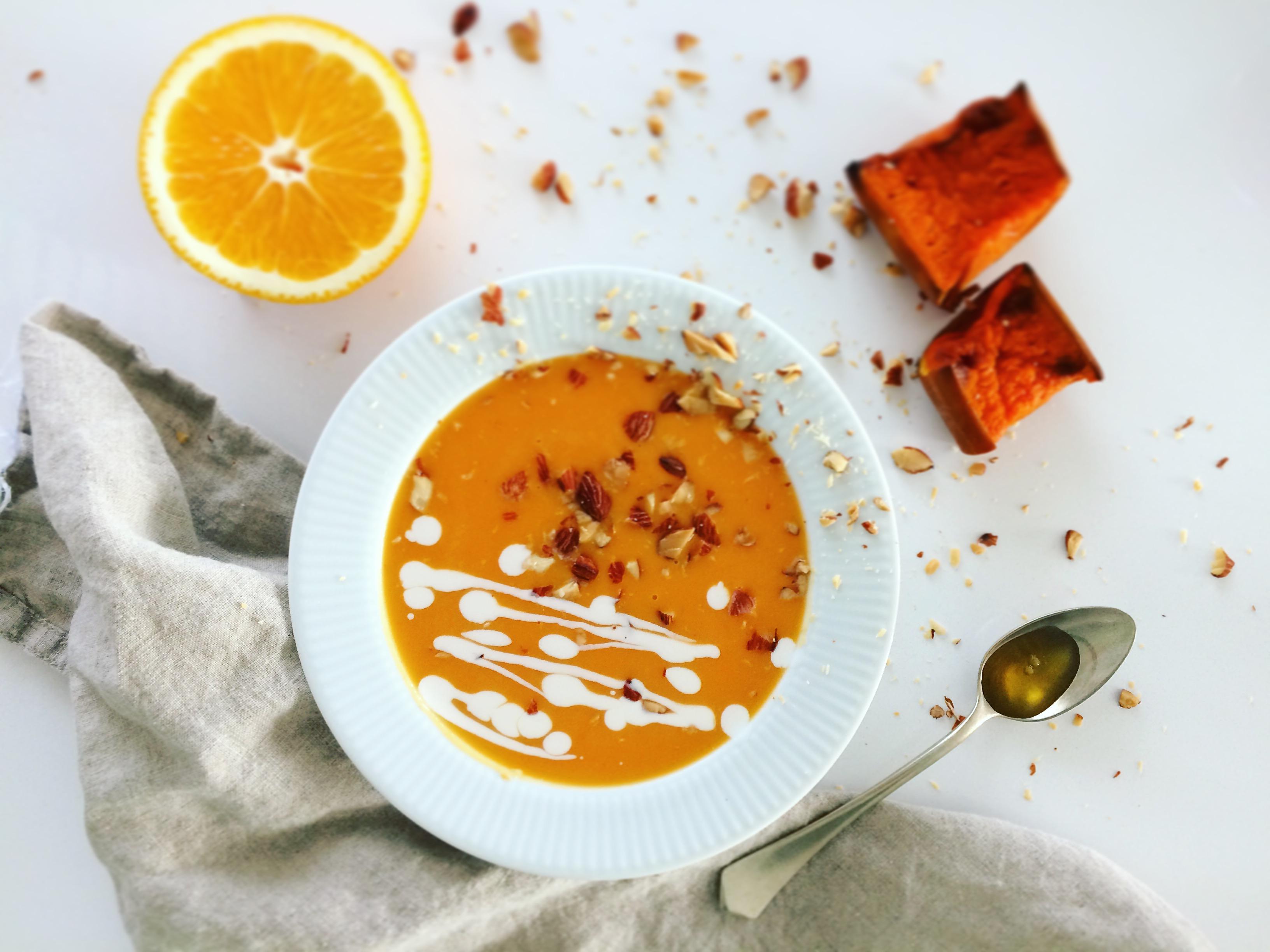 Narancsos sütötők krémleves 5 hozzávalóból