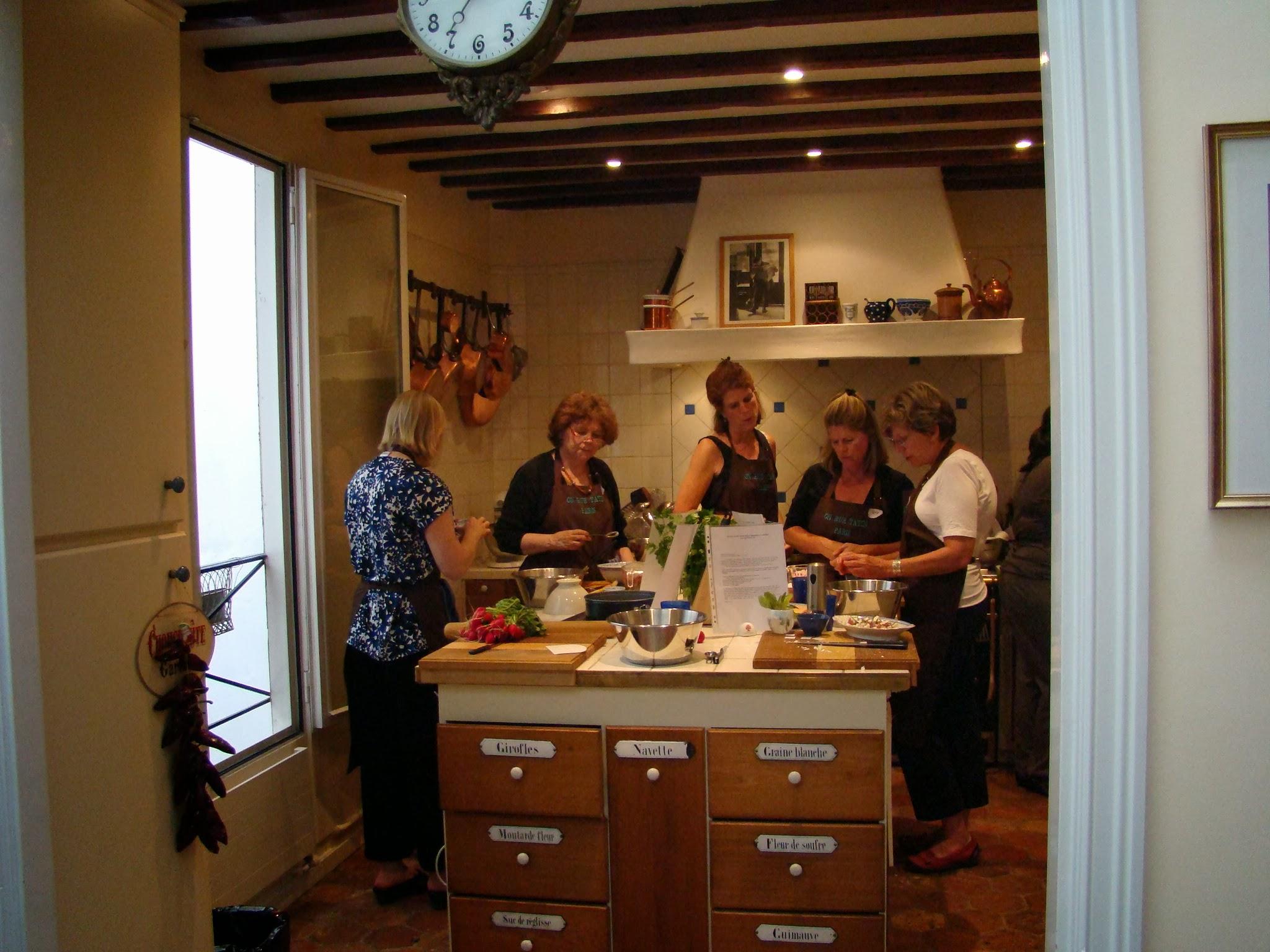 A konyhasziget, ahol elkészítettük a finomságokat.