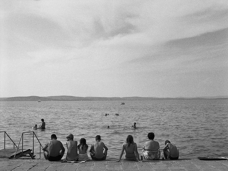 A  magyar tenger partján