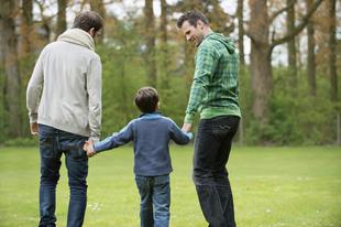 Homoszexuális szülők kiegyensúlyozott gyerekei