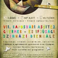 Csaknem 50 előadás a gyermek- és ifjúsági színházi biennálén Kaposváron