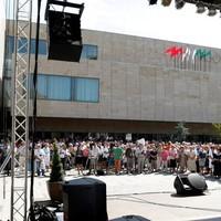 Átadták az Agora terminál kulturális központot Szolnokon