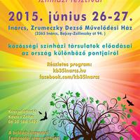 Közösségi színházak fesztiválja Inárcson