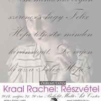 Részvétel – Kraal Rachel bemutatója a Bakelitben