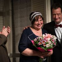 A 60 éves Zsurzs Katit köszöntötték a Karinthy Színházban