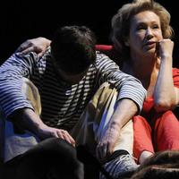 Udvaros Dorottya és Marguerite Duras a Nemzeti új játszóhelyének premierjén
