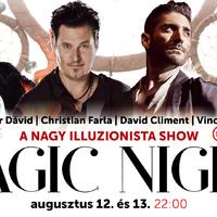 JÁTÉK - Nyerjen jegyet a margitszigeti Magic Show-ra!