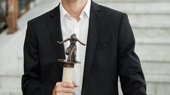 Nagy Alfréd vehette át az idei Kaszás Attila-díjat