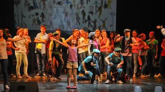 Zánkán az Álom megálló című nemzetközi gyermekmusical