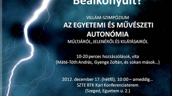 Szegedi egyetemi oktatók a művészeti szabadság mellett