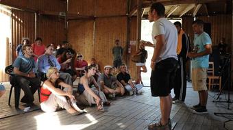 A Hónap Civil Kezdeményezése: az UtcaSzak és a Roma Filmiskola közös színjátszó tábora
