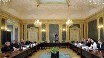 A művészeti felsőoktatási intézmények rektoraival egyeztetett Balog Zoltán