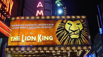 Az oroszlánkirály lett az év legtöbb bevételt hozó Broadway-darabja