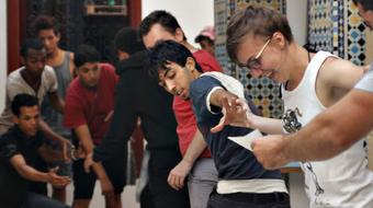 Elkezdődtek az Osonó Színházműhely próbái Marokkóban