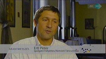 Ertl Pétert nevezték ki a Nemzeti Táncszínház igazgatójának