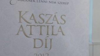 Kaszás Attila-díj – Bemutatták a 2013-as jelölteket