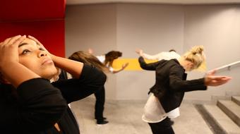 Fiatal koreográfusok estje a Trafóban