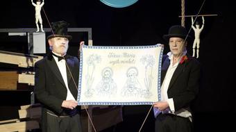 Mutatványszínház két szereplőre – Megnyugszunk a Patyolatban