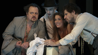 Londoni és szentpétervári előadás a gyulai Shakespeare Fesztiválon