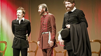 Vendéghétfők a kaposvári színházban - Nagyszínpadon a Kaisers TV, Ungarn