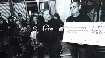 Díjjal tért haza németországi útjáról a Janus Egyetemi Színház