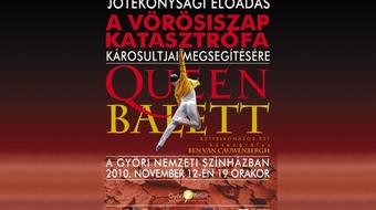 A Győri Balett a katasztrófa áldozataiért táncol