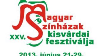 Ma kezdődik a Magyar Színházak XXV. Kisvárdai Fesztiválja