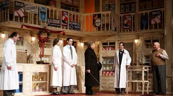 Akadálymentesített színházi előadás látássérülteknek