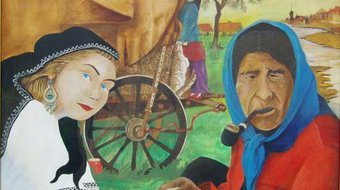 Cigány jósnő – Vallás és misztikum a kortárs roma festészetben