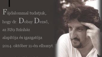 Elhunyt dr. Dobay Dezső