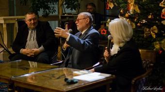 Bárány Frigyes köszöntése a Nemzeti Színházban