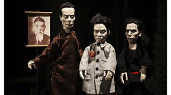 Örökség, történelem, kézfej - Yeung Faï bábszínháza a Trafóban