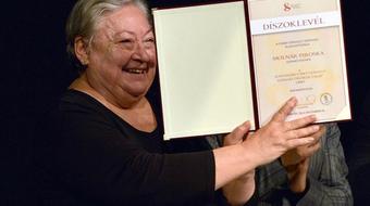 Molnár Piroska a kaposvári színház örökös tagja
