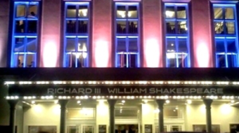Londoni színpadon A király beszéde
