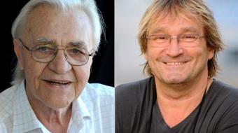 Bitskey Tibor és Cserhalmi György a Nemzet Színészei