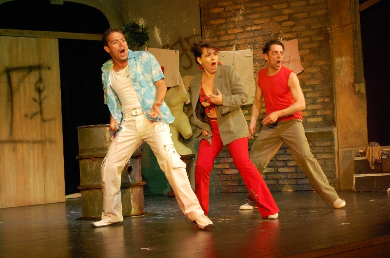Szerelem, szerelem, szerelem (Bástyasétány 77.), Budapesti Pódium Színház