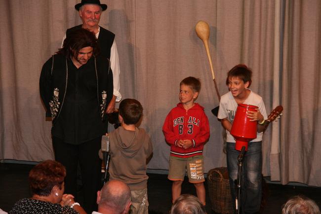 A nagyidai cigányok - balra: Gál Tamás és Bodonyi András
