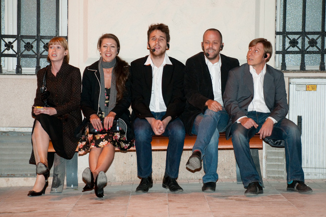 HOPPartklub / Scale 1:5 - Kiss Diána Magdolna, Szilágyi Katalin, Barabás Richárd, Friedenthal Zoltán, Herczeg Tamás
