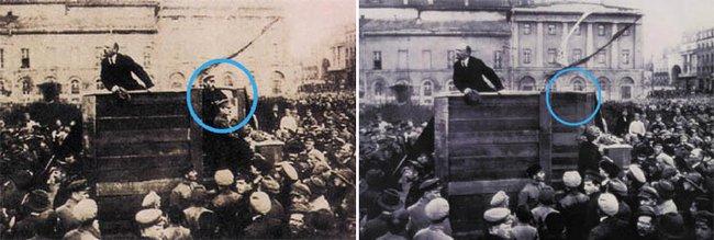 Lenin, Trockij, Kamenyev - aztán már csak Lenin