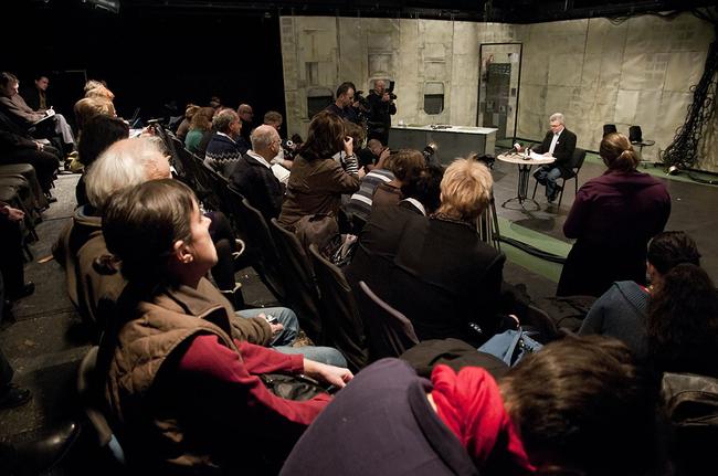 Márta István sajtótájékoztatója az Új Színházban, 2012. január 25.
