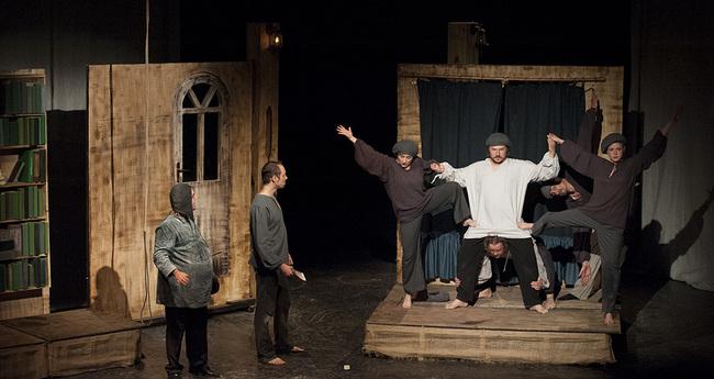 Az eredeti Hamlet - Mikes Imre Elek, Mészéros Árpád, Mezei Kinga, Csernik Árpád, Molnár Zoltán, Mészáros Gábor, Béres Márta