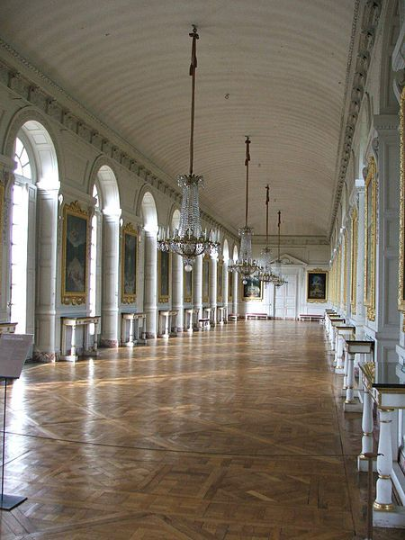 La galerie des Cotelles - a trianoni békeszerződés aláírásának helyszíne