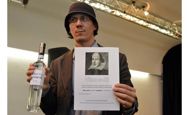 Mikó Csaba és a Vilmos-díj