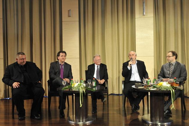 Vidnyánszky Attila, Ókovács Szilveszter, Balázs Péter, Gazsó L. Ferenc és Fekete Péter