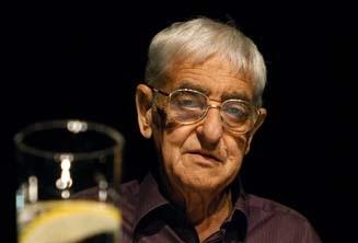 Kézdy György a Levelek Palesztinából című előadásban