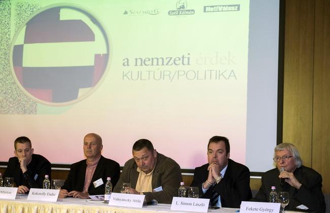 Békés Márton, Kukorelly Endre, Vidnyánszky Attila, L. Simon László, Fekete György