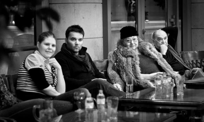 Mészáros Piroska, Hevér Gábor, Molnár Piroska, Bodrogi Gyula