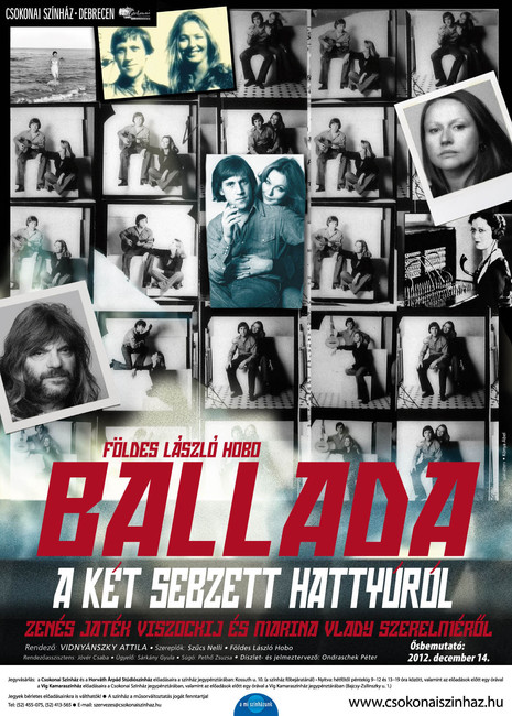 Ballada a sebzett hattyúról (plakát: Kónya Ábel)